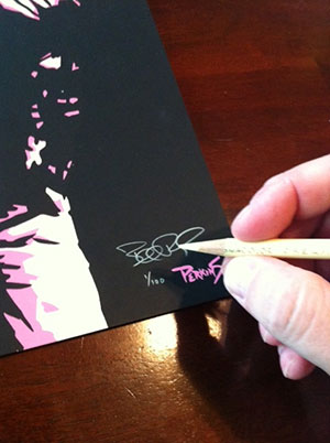 Limited and Numbered